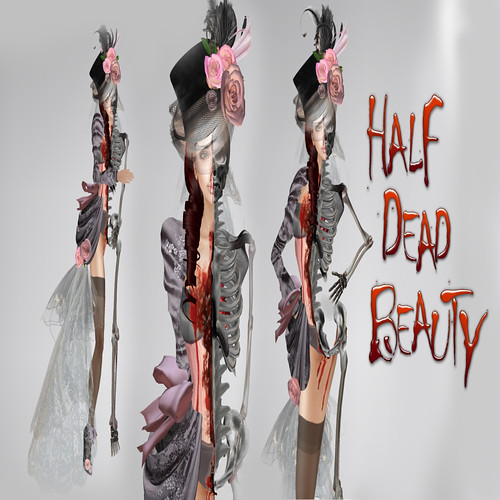Half Dead Beauty, 1490 lindens by Cherokeeh Asteria