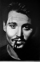 Johnny Depp 03 (pbradyart) Tags: portrait bw art pencil movie star sketch artwork drawing johnnydepp pencildrawing johnnydeppportrait filmstardrawing filmstarpencildrawing johnnydeppdrawing johnnydepppencildrawing johnnydeppsketch