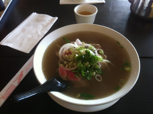 Pho with Medium Beef and Briskey by raise my voice