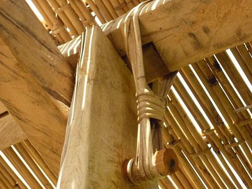 達魯岸的關鍵在於栓子與藤的運用(圖片來源:米粑流部落格)