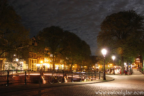 Night view, Amsterdam