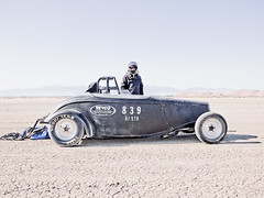 Rod Riders, Driver Patrick Blevins (Johannes Huwe) Tags: california lake hot club race speed cool salt dry racing hasselblad flats saltlake 200 land hotrod rod driver oldtimer medium format speedy cinematic mph hdr bonneville racer elmirage drylake 839 2011 speedweek speedrace hodrod h3d landspeed worldofspeed h3d39 rodriders driverpatrickblevins