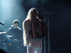 CIMG2817 (DKoontz) Tags: music rock washingtondc dc concert funny casio wierd accordian exilim apocolypse warnertheater weirdalyankovic exf1