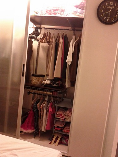 compact closet space