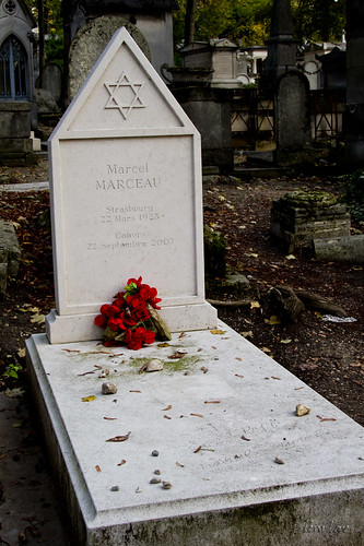 Pere LaChaise Cemetery Marcel Marceau