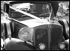 The Bentley (cadvan3) Tags: road old autumn wedding england blackandwhite cold home church window girl beautiful beauty car metal lady female lights october pretty carriage north thoughtful sharon chapel blonde wife blondie dslr northeast carlights bentley a330 edson sedgefield stedmundschurch stedmunds northeastengland blackwhitephotos noetheast hardwickpark dragonista cadvan3 davidedson davidabedson sharonedson
