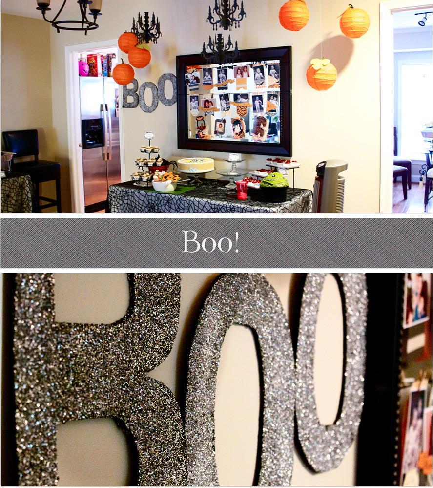 Glitter Letters and Decorations