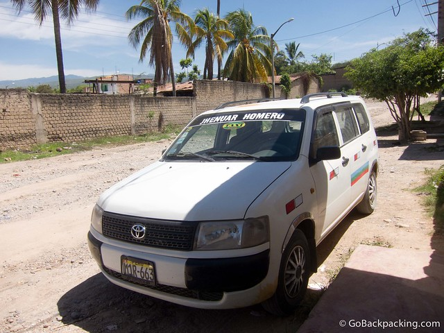 Peruvian colectivo