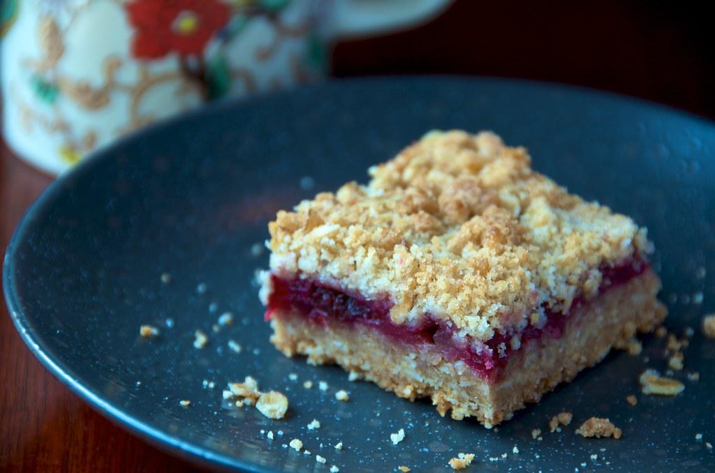Cranberry-Walnut Squares
