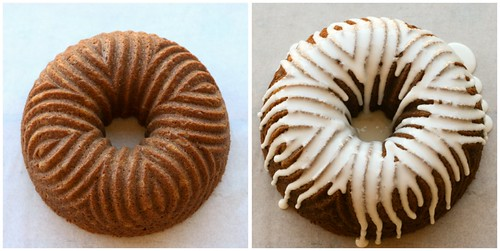 Pumpkin Spice Bundt collage 2