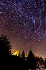 Startrails Video Gimp script