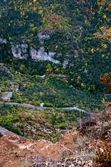 Gorges de la jonte (lcnb) Tags: automne ciel 5d canon5d nuages gorges falaises millau languedocroussillon jonte aveyron couvert gorgesdutarn lozre gorgesdelajonte luccombettes