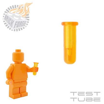 Test Tube - Trans Orange