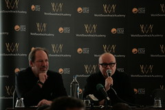 Gent - World soundtrack awards 2011 press conference (Xalira) Tags: world music film belgium zimmer hans awards score ghent gent soundtrack elliott gand belgio 2011 goldenthal streamingsoundtracks