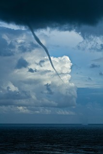 Witnessing a tornado in the English Channel