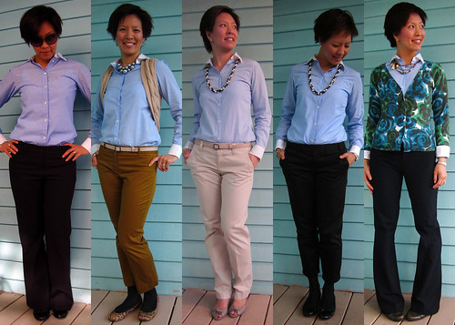 blue button down 01