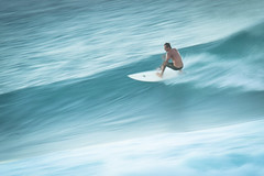Hookipa Dreams (KJELL LINDER) Tags: ocean sea man blur hawaii paradise surf wave maui hookipa