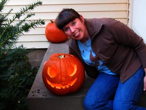 218/365 Pumpkin Carved!