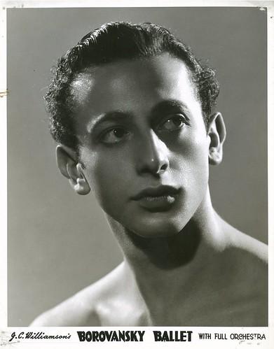 Martin Rubinstein, Borovansky Ballet, 194- / photographer Hal Williamson, Sydney