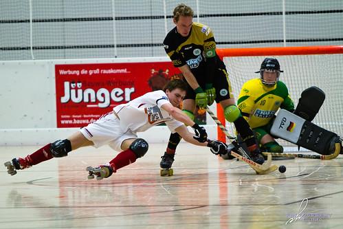 Rollhockey Bundesliga: ERG Iserlohn vs. RSC-Cronenberg