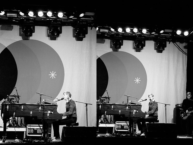 Jack's Mannequin sound check diptych 2