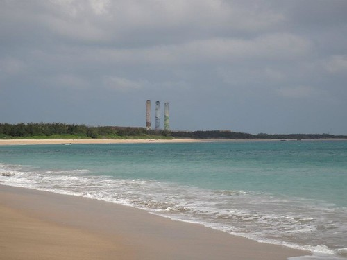 澎湖三大海灘之一:隘門沙灘,由民間自力復育,擁有最多星砂之處。(圖片來源:海洋公民基金會部落格)