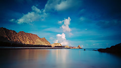 Kalbuh Beach (The T-Man) Tags: ocean longexposure sea beach water filter nd oman muscat kalbu kalbuh