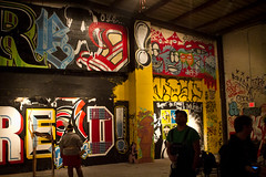 Bomb Threat (dogslobber) Tags: street new party art graffiti orleans reader goose bomb threat meek harsh