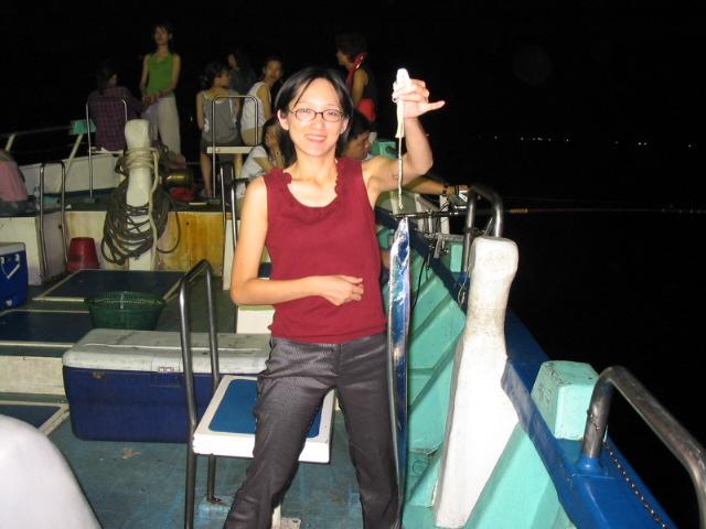 釣白帶魚是受歡迎的海釣活動