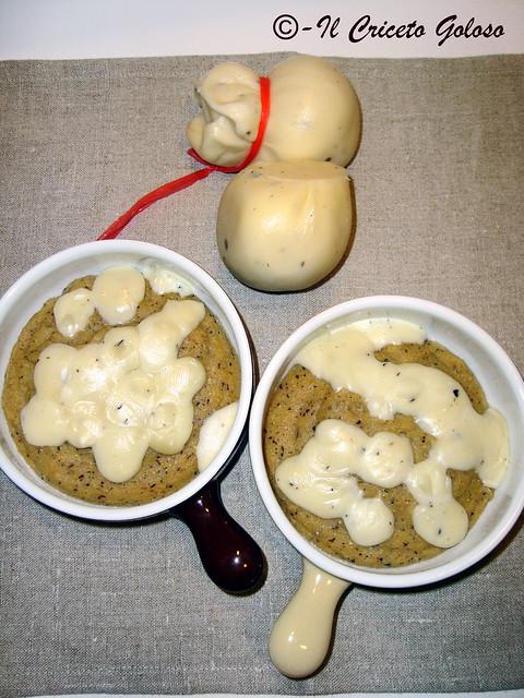 Cocottine di taragna e scamorza al tartufo 2