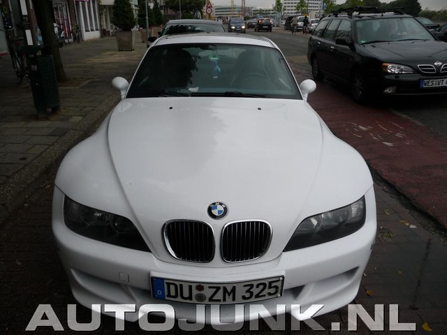 S54 BMW M Coupe | Alpine White | Gray/Black