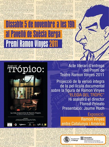 Premi Ramon Vinyes de teatre 2011
