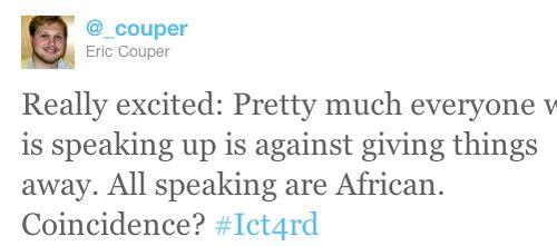 Eric Couper tweet 2