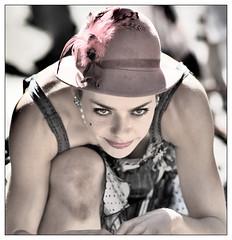 Predator (maoby) Tags: camera city portrait people woman baby sexy art beautiful beauty fashion vintage fun dance crazy friend funny noir montral you kurt top live yes elle bob beaut qubec pixel fille numrique personnes bb couleur fou fatal floue follie dmon dingue indcence bobkurt maoby