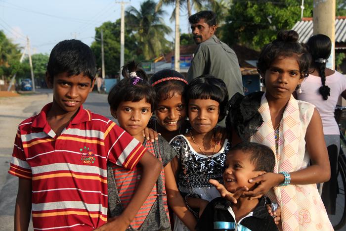 Kids in Jaffna, Sri Lanka