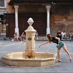 Venice : Campo S. Giacomo fountain