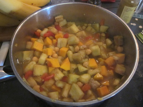 Cooking the soup