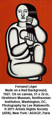 Fernand Léger - Nude on a Red Background, 1927 by artimageslibrary