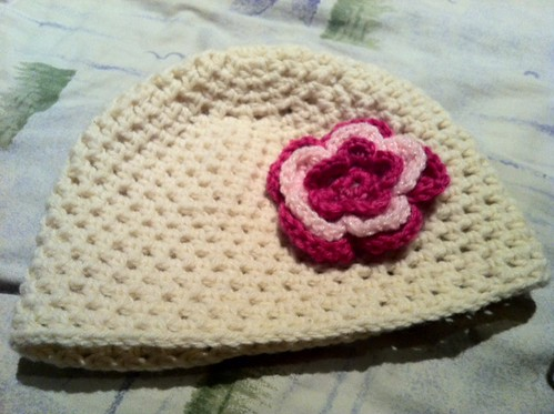crocheted beanie giveaway