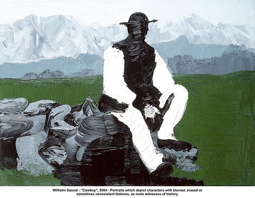 "Wilhelm Sasnal - ""Cowboy"", 2004 by artimageslibrary"
