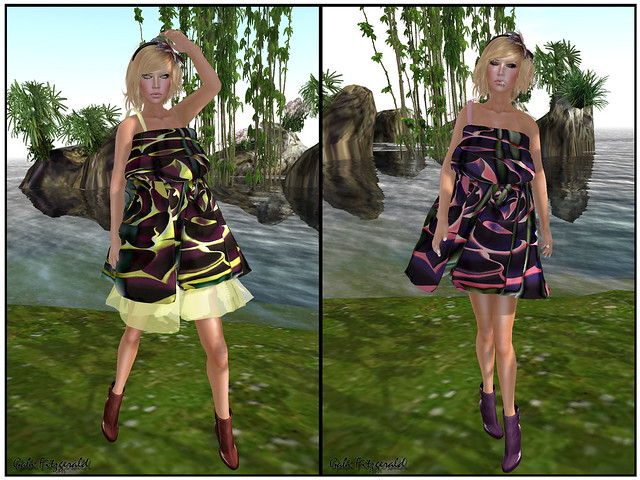 LpD new release 2 - silks art dress