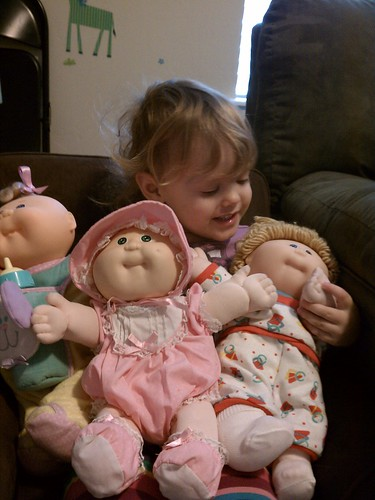 My Old Cabbage Patch Babies And My Lily