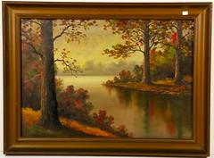 185. OOB Fall Landscape with Lake