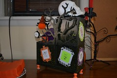 Halloween Calendar Back