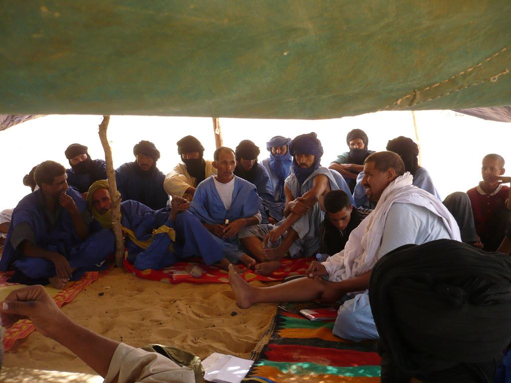 comité zonal de développement réunissant tous les chefs des sites concernés par l'action, Inagouzmi, Juillet 2008 (2)