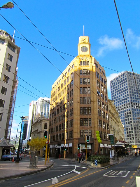 Lambton Quay, Wellington, New Zealand