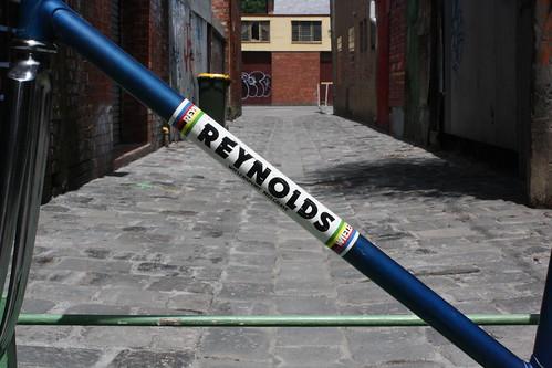 Reynolds track frame down tube