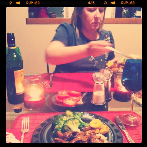 Fricassee chicken feat. Lara!