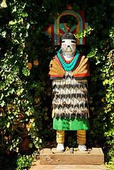 Hopi Katsina - Garland's Indian Jewelry - Oak Creek Canyon - Sedona (Al_HikesAZ) Tags: arizona sculpture building art statue retail architecture creek shopping store oak crafts indian arts sedona az nativeamerican pottery hopi garlands tradingpost kachina oakcreek katsina alhikesaz