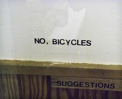 no, bicycles (glennbphoto) Tags: sanfrancisco guesswheresf suggestions foundinsf gordos